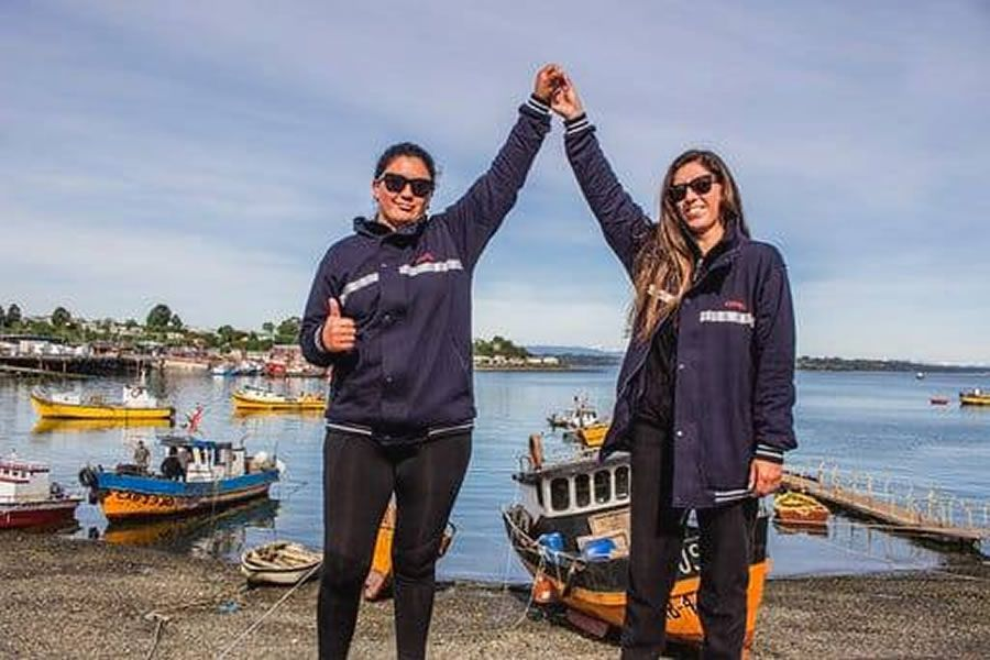 Catalina y Andrea Saavedra Urrutia